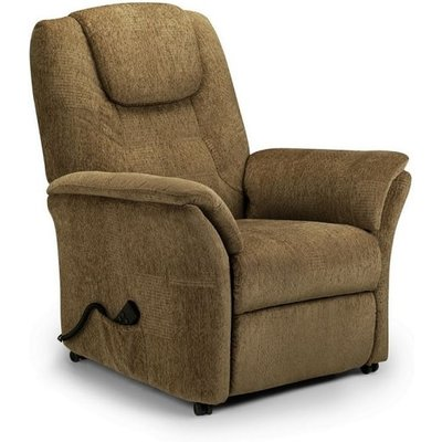 Brandon Fabric Recliner Chair In Cappuccino Chenille