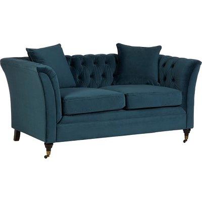 Dartford Modern 2 Seater Sofa In Midnight Blue