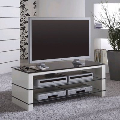 Alpina Gloss White Widescreen TV Stand