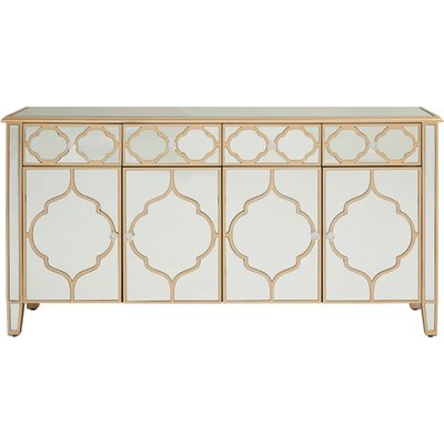 Dziban MDF Sideboard With With Mirrored Glass