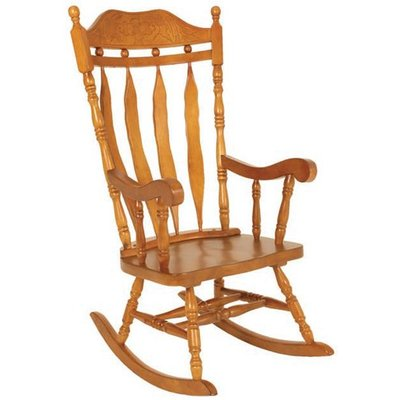 Jefferson Childs Rocker Chair In Oak