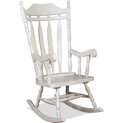 Jefferson Childs Rocker Chair In White