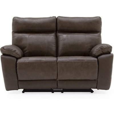Marquess Recliner 2 Seater Sofa In Brown Faux Leather