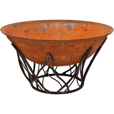 Cast Iron Fire Bowl 100cm with Blaze Stand