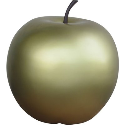 Apples Garden Ornament Gold
