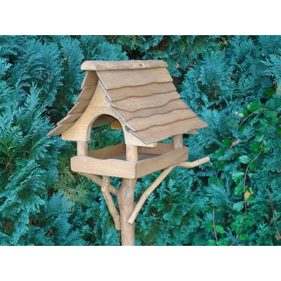 Small Oak Bird Table