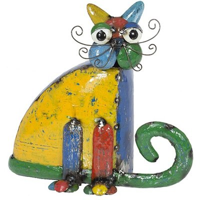 Barnyard Sitting Cat