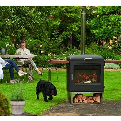 Garden Party Heater and BBQ