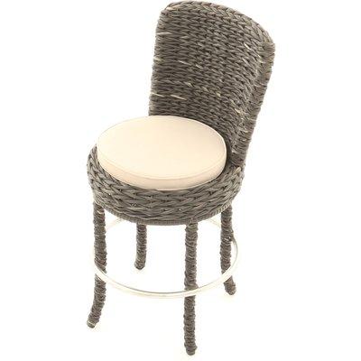 Midnight Montana Swivel Bar Chair