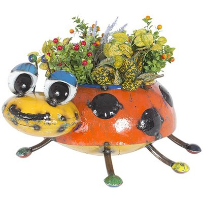 Lily The Lady Bug Planter
