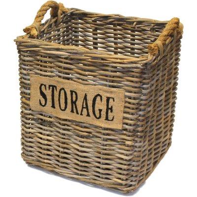 Small Square Kubu Storage Basket