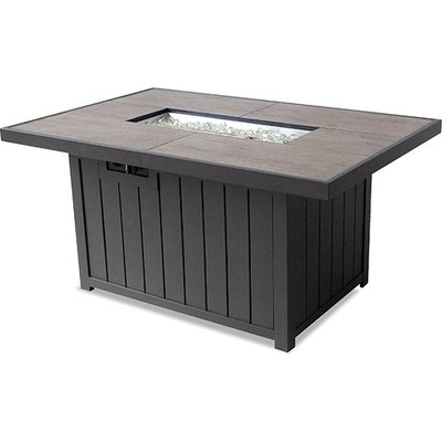Rectangular Firepit Table