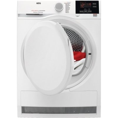 AEG T6DBG720N Tumble Dryer Condenser White