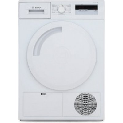 Bosch WTH84000GB Tumble Dryer Condenser White