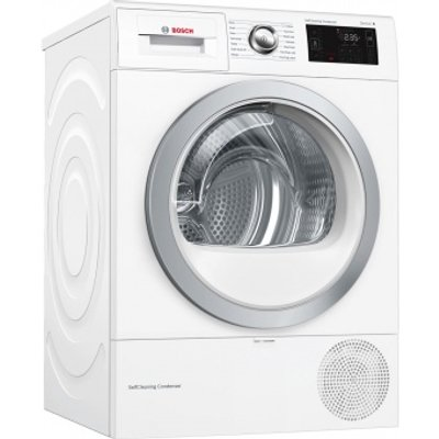 Bosch WTWH7660GB Tumble Dryer Condenser White