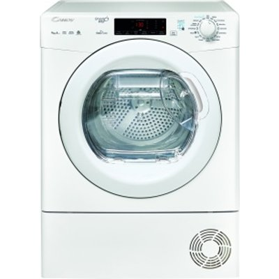 Candy GVSH9A2TE Tumble Dryer Condenser White