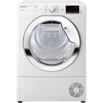 Hoover HLC9DCE Tumble Dryer Condenser White