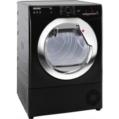 Hoover HLC9DCEB Tumble Dryer Condenser Black