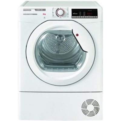 Hoover HLXC8DG Tumble Dryer Condenser White