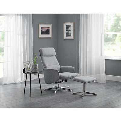 Alie Contemporary Swivel & Recline Chair