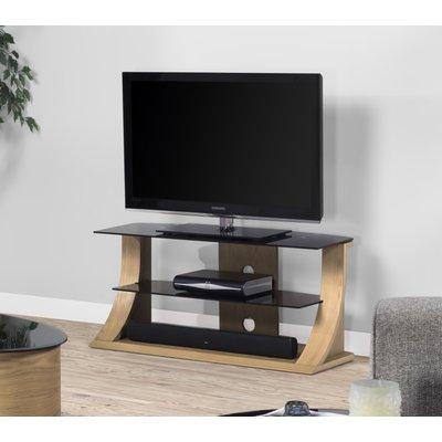 Curve Oak TV Stand