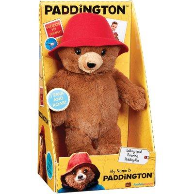 Paddington Bear My Name Is Paddington Talking Soft Toy