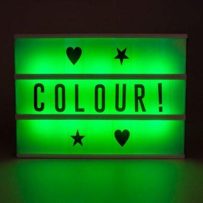 Colour Change Cinema Light Box With Remote Control