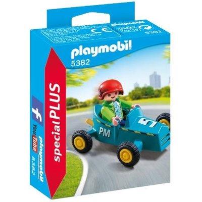 Playmobil Boy with Go-Kart