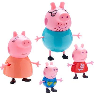 Peppa Pig Family Figure 4 Pack