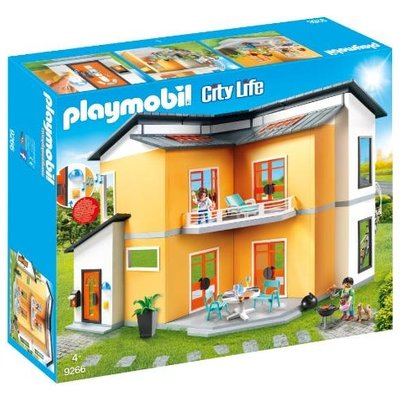Playmobil Modern House with Working Doorbell