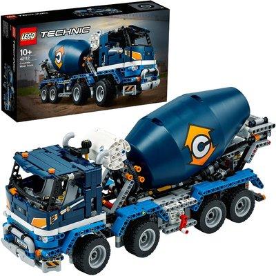LEGO Technic Concrete Mixer Truck Toy Construction Set 42112