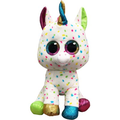 TY Harmonie Spotty Unicorn Boo Buddy Large
