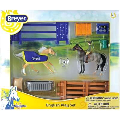Breyer English Playset