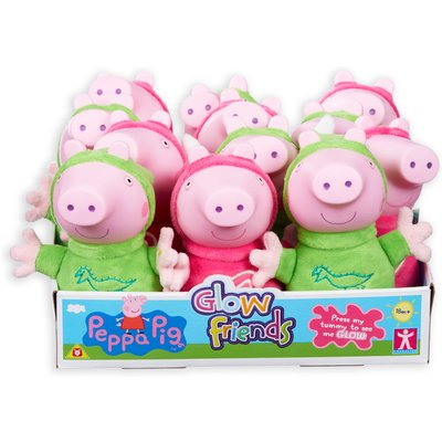 Peppa Pig Glow Friend Soft Toy Assortment