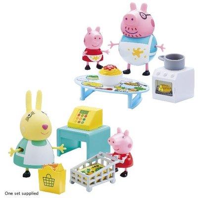 Peppa Pig's Messy Kitchen/Shopping Trip Set Assortment