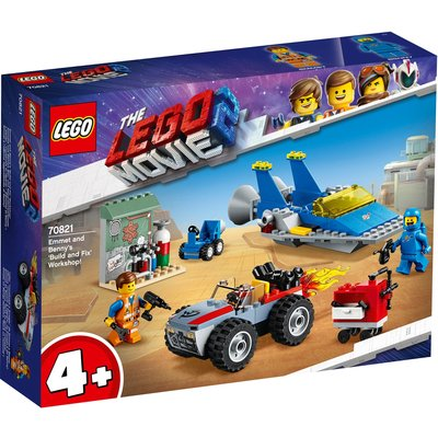 LEGO Movie 2 Emmet & Benny's Build & Fix Workshop 70821