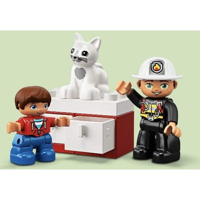 LEGO Duplo Fire Truck Building Blocks