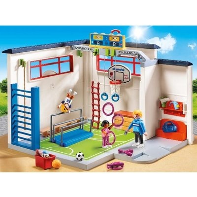 Playmobil 9454 City Life Gym with Scoar Display