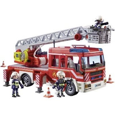 Playmobil Fire Ladder Unit with Extendable Ladder