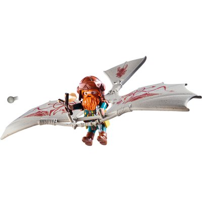 Playmobil 9342 Knights Dwarf Flyer