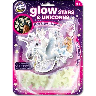 Glow Stars & Unicorn Stickers