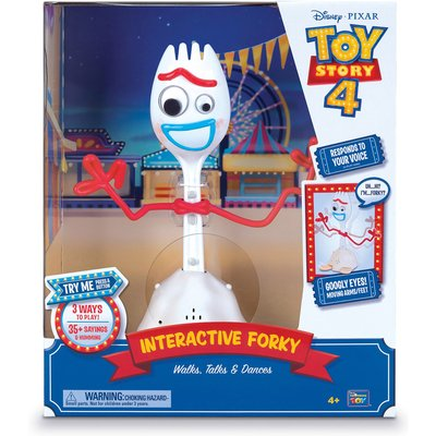 Toy Story 4 Interactive Forky Walks, Talks, Dances