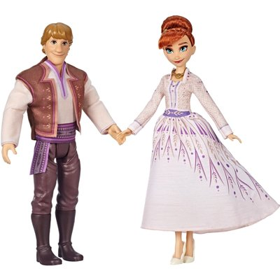 Disney Frozen Anna and Kristoff Fashion Dolls 2 pk