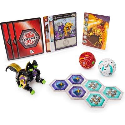 Bakugan Starter Pack 3-Pack, Season 3 Geogan Rising, Collectible Action Figures