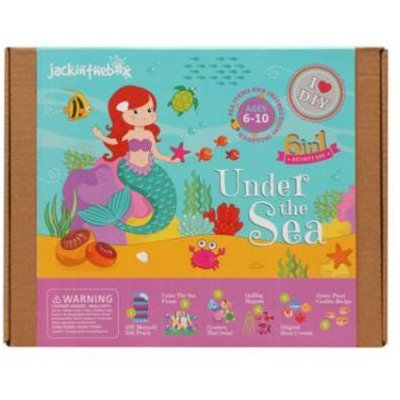 Jack In The Box Under The Sea 7-In-1 Craft Kit