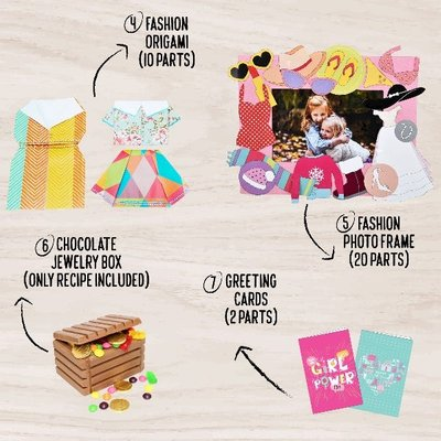Jack In The Box Lil Fashionista 7-In-1 Craft Kit