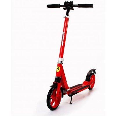 Ferrari 2 Wheel Scooter Red w suspension
