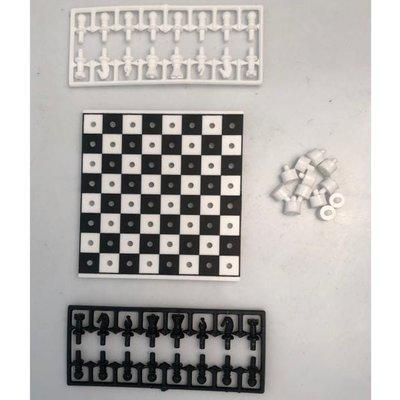 Youreka Mini Games Travel Chess + Draught