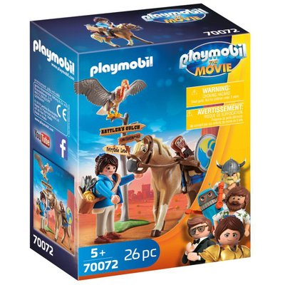 Playmobil 70072 Playmobil: THE MOVIE Marla with Horse