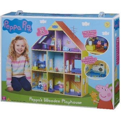 Peppa Pig Peppas Wooden Playhouse